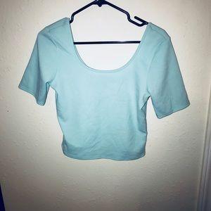 Tops - Tiffany blue classy shirt 💙✨